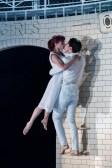 Matthew Bourne, Romeo and Juliet, Juliet (Cordelia Braithwaite) and Romeo (Paris Fitzpatrick) Capulet Company (2)