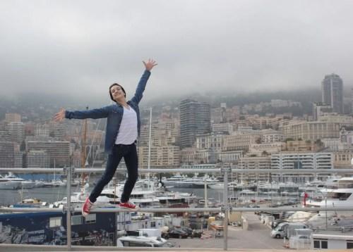 Shale Wagman at 15 in Monaco