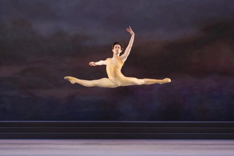 Valentino Zucchetti in Rhapsody, The Royal Ballet © ROH, Johan Persson 2014