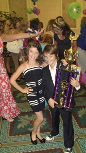 When Shale Wagman won the American Dance Awards at 9 years old