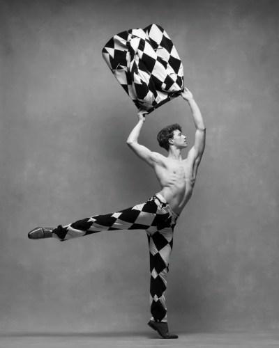 Ben Freemantle, Soloist, San Francisco Ballet Suit by Moschino, c. 2000, courtesy New York Vintage © Ken Browar and Deborah Ory