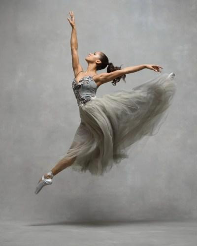 Misty Copeland, Principal, American Ballet Theatre Dress by Trash Couture © Ken Browar and Deborah Ory