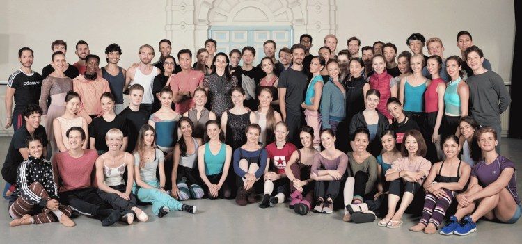 English National Ballet company