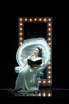 Hui He as Adriana Lecouvreur at the Filarmonico di Verona, 2019, costume by Ivan Stefanutti