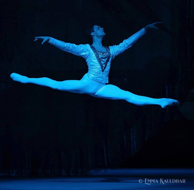 Jacopo Tissi in Swan Lake at The Royal Opera House, August 2019