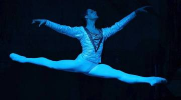 Jacopo Tissi in Swan Lake crop