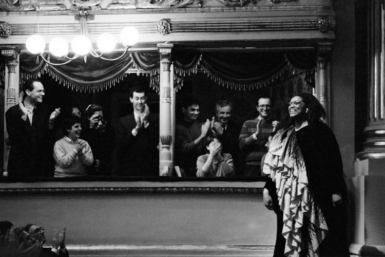 Jessye Norman in recital, 1987, photo Lelli and Masotti