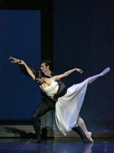 11 Onegin with Roberto Bolle and Marianela Nuñez photo by Brescia and Amisano, Teatro alla Scala 2019
