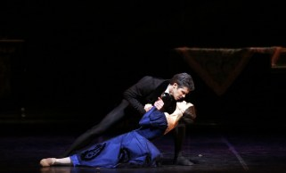 18 Onegin with Roberto Bolle and Marianela Nuñez photo by Brescia and Amisano, Teatro alla Scala 2019