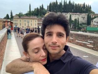 Alessandro Macario and Anbeta Toromani in Verona