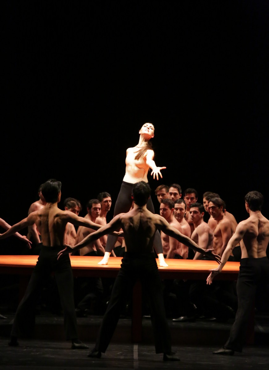 Boléro with Martina Arduino, photo by Brescia e Amisano, Teatro alla Scala