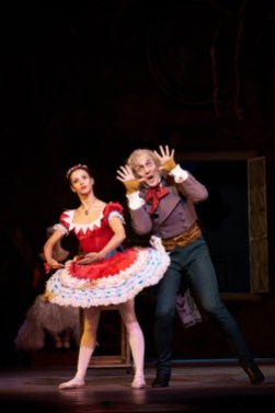 Coppelia. Francesca Hayward as Swanilda and Gary Avis as Dr Coppelius. (c) ROH, 2019. Photographed by Bill Cooper. (1)