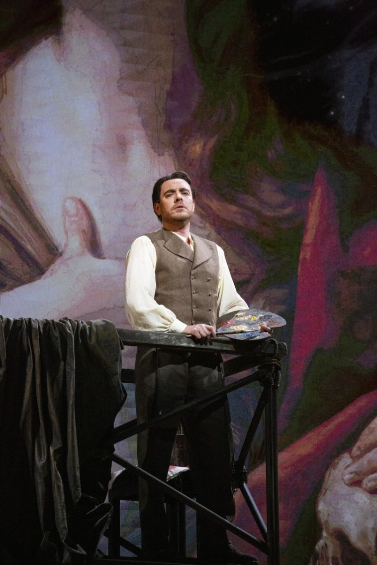 01 Tosca with Francesco Meli, photo by Brescia e Amisano, Teatro alla Scala 2019