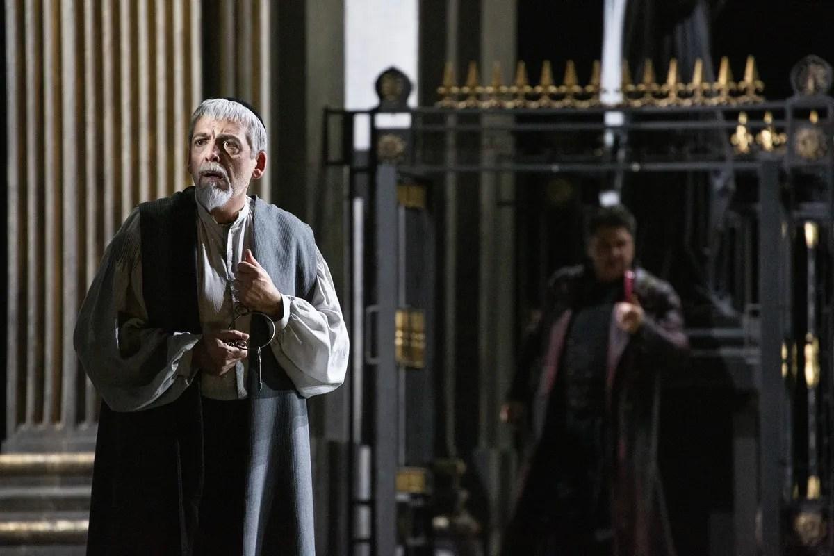 03 Tosca with Antoniozzi, photo by Brescia e Amisano, Teatro alla Scala 2019