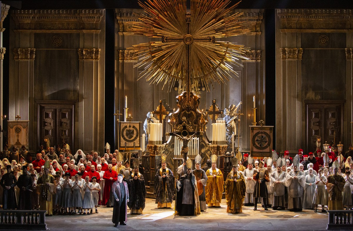 13 Tosca photo by Brescia e Amisano, Teatro alla Scala 2019