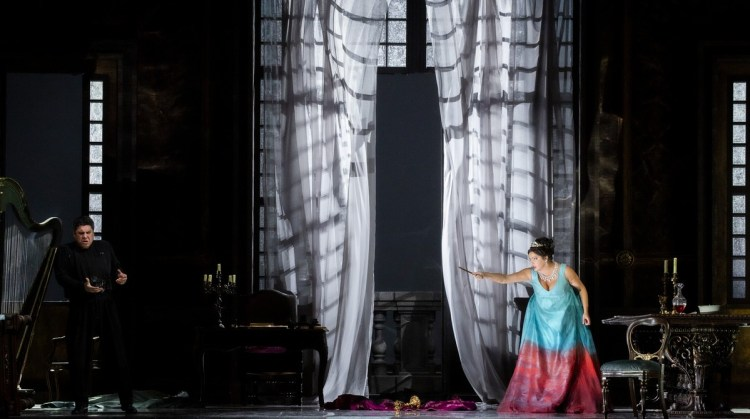 27 Tosca with Salsi and Netrebko, photo by Brescia e Amisano, Teatro alla Scala 2019