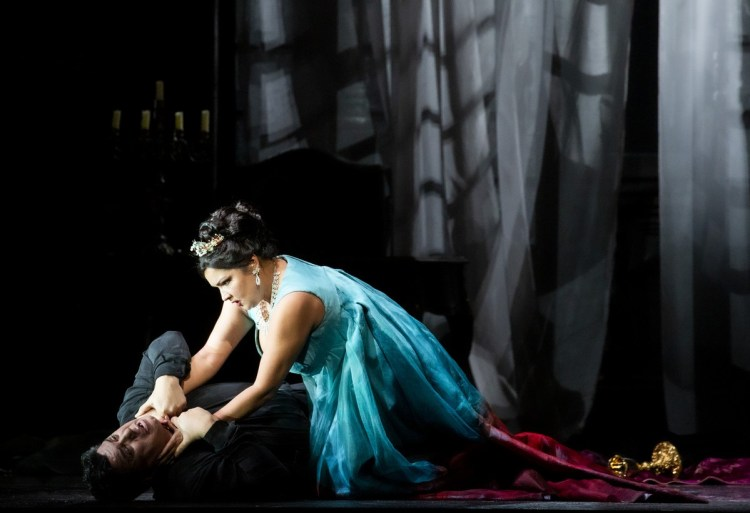 28 Tosca with Salsi and Netrebko, photo by Brescia e Amisano, Teatro alla Scala 2019