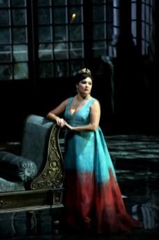 Anna Netrebko in Tosca, Tosca, photo by Brescia e Amisano, Teatro alla Scala 2019 01