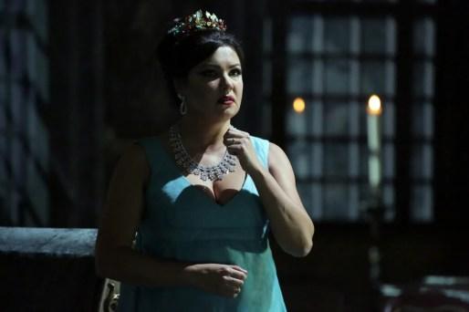Anna Netrebko in Tosca, Tosca, photo by Brescia e Amisano, Teatro alla Scala 2019