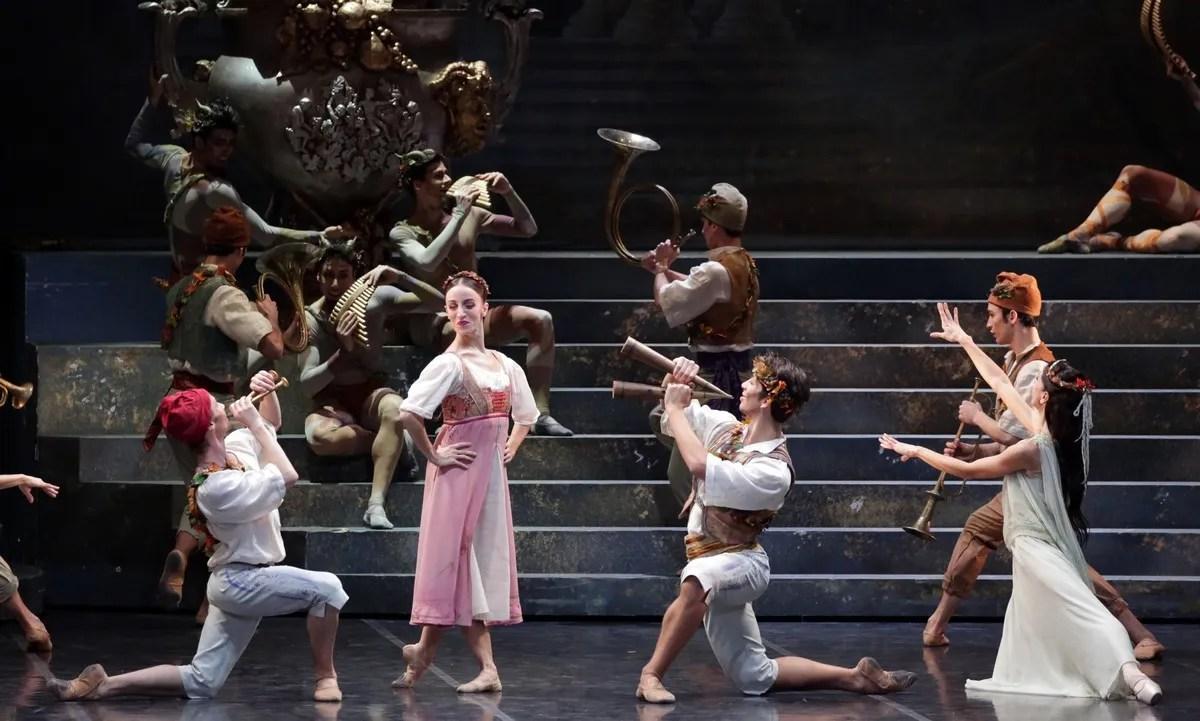 Sylvia Antonella Albano, Mattia Semperboni, Valerio Lunadei photo by Brescia e Amisano, Teatro alla Scala 2019 17