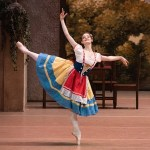 Eleonora Sevenard in Coppelia photo Mikhail Logvinov
