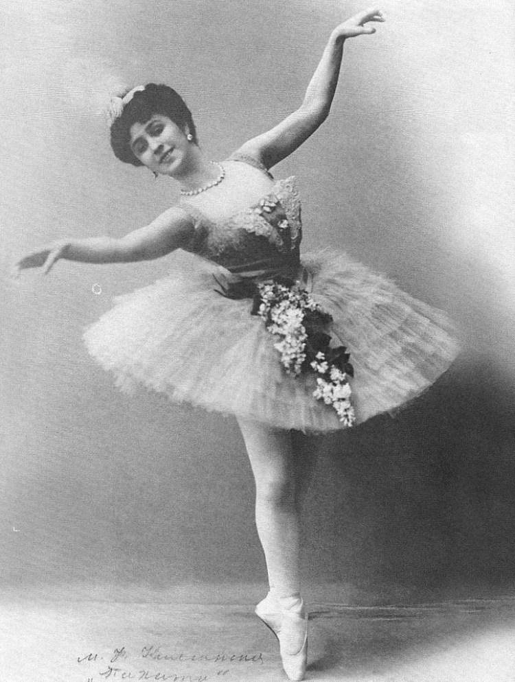 Mathilde Kschessinskaya as Nirity in The Talisman, 1910
