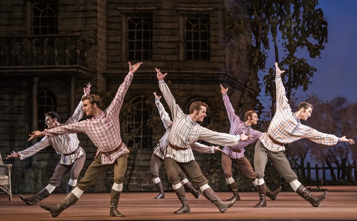 Onegin with artists of The Royal Ballet © ROH, 2020. Photographed by Tristram Kenton