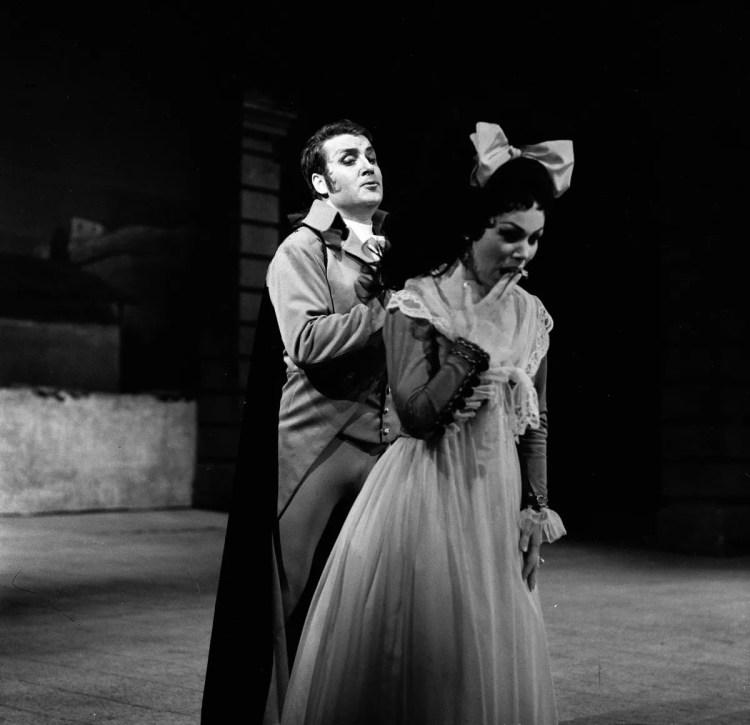 05 Mirella Freni in DON GIOVANNI 1963 with Nicolai Ghiaurvov photo by Erio Piccagliani © Teatro alla Scala