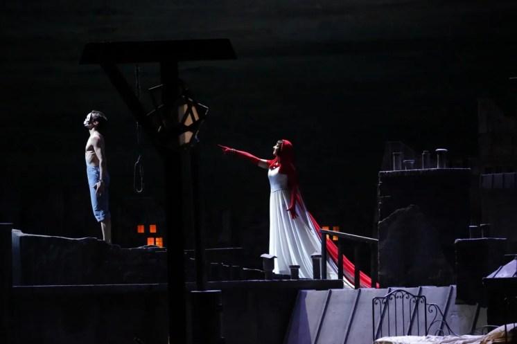 Le Jeune homme et la Mort, Nicola Del Freo and Marta Romagna, photo Brescia e Amisano Teatro alla Scala, 5