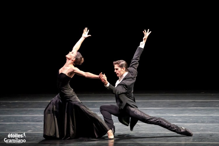 Miriam Mendoza and Sergio Bernal in Les Etoiles 2020 Rome, photo by Graham Spicer