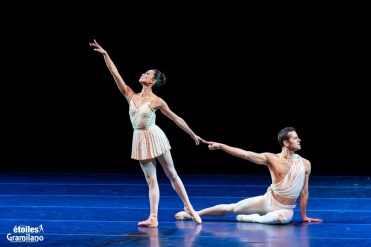 Robert Fairchild and Stella Abrera in Les Etoiles 2020 Rome, photo by Graham Spicer 01