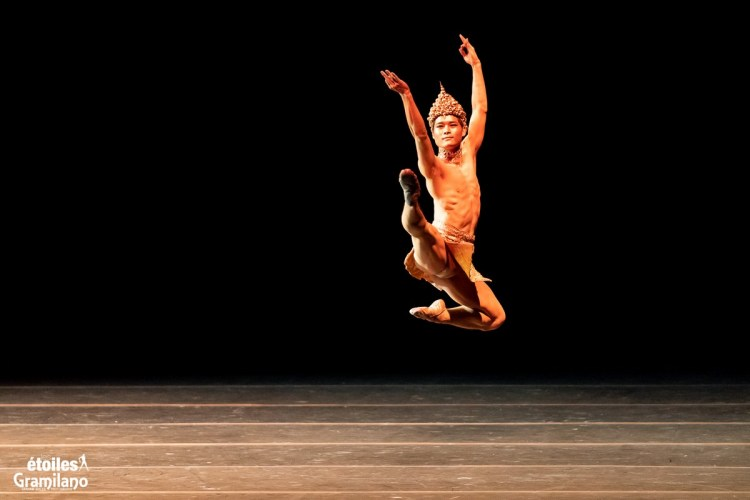 Young Gyu Choi in Les Etoiles 2020 Rome, photo by Graham Spicer