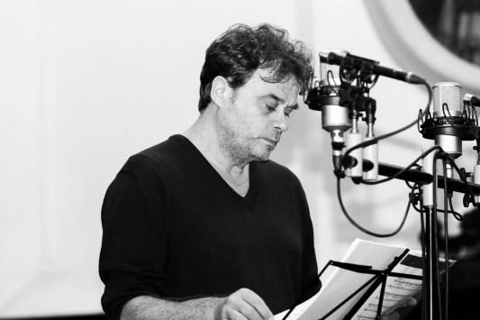 Ottavio Dantone in the studio for Il Giustino