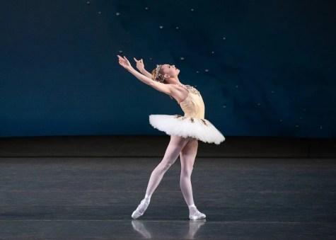 Sara Mearns of New York City Ballet in Balanchine's Diamonds, photo by Erin Baiano