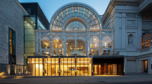 Royal Opera House, new exterior ©2018 ROH. Photograph by Luke Hayes (1)