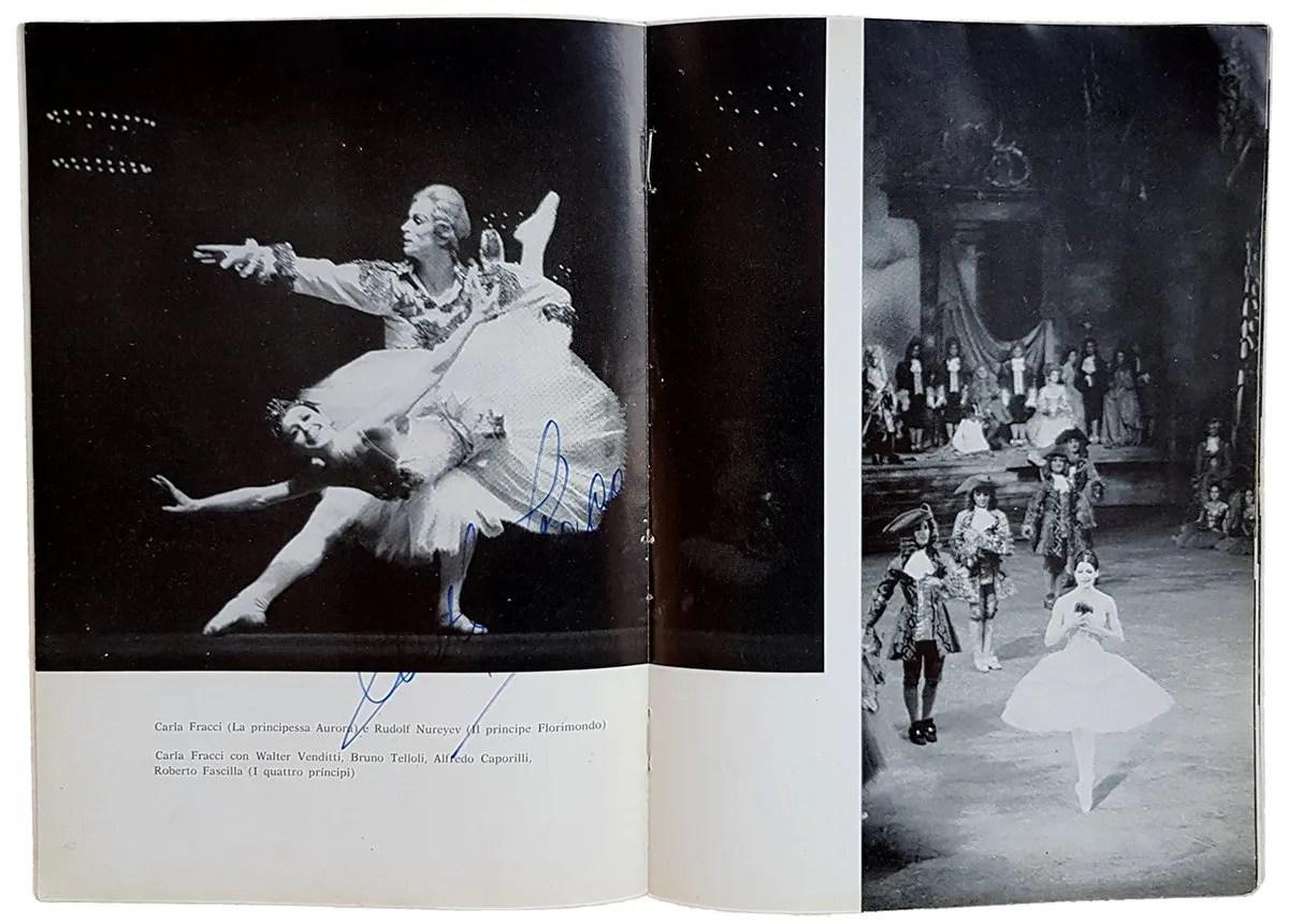 Nureyevs The Sleeping Beauty La Scala 1966 theatre programme collection Carlo Orlandi
