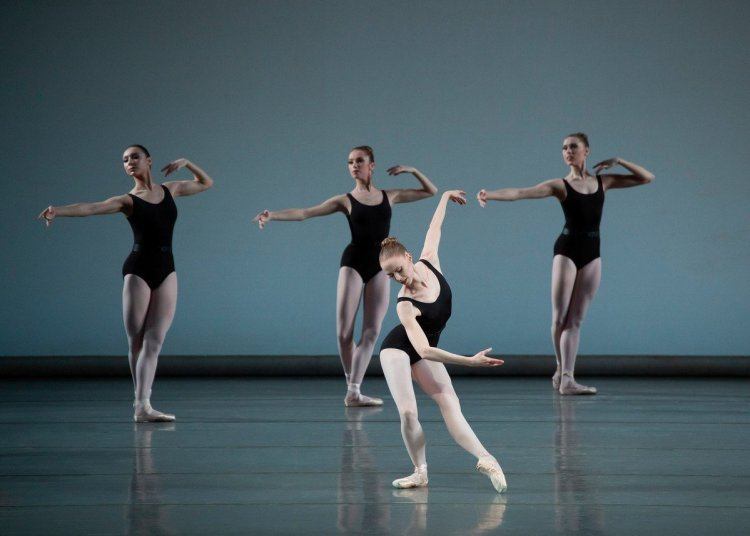 Teresa Reichlen and New York City Ballet in George Balanchines Episodes photo by Erin Baiano