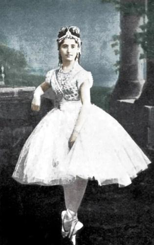 Giuseppina Bozzacchi as Coppélia, 1870