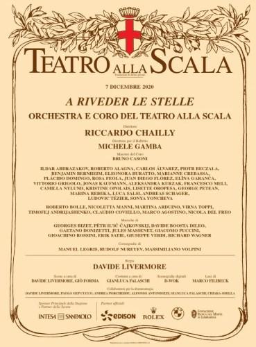La Scala Poster 7 December 2020