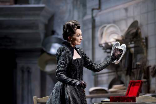 Marion Tait as the Stepmother in Cinderella photo Bill Cooper