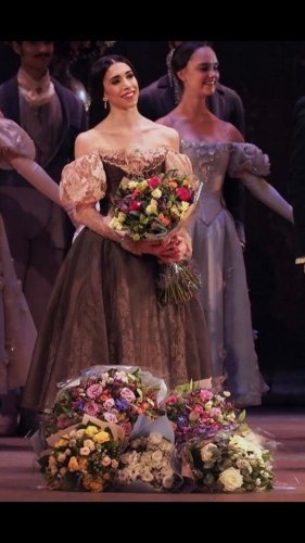 Onegin curtain call in February 2020