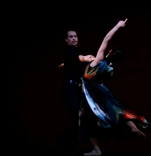 Romany Padjak and Calvin Richardson, In Our Wishes, Royal Ballet Live, 2020, photo Rachel Hollings ROH