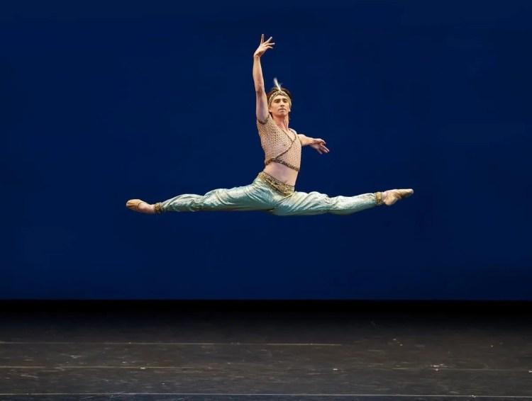Vadim Muntagirov in Le Corsaire, Royal Ballet Live 2020, photo Emma Kauldhar ROH