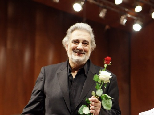 Placido Domingo photo by Rudy Amisano, December 2020