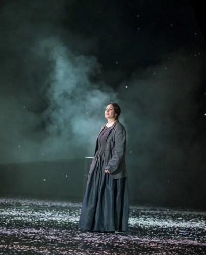 Sonya Yoncheva as Mimi in La bohème, The Royal Opera © 2020 ROH. Photograph by Tristram Kenton