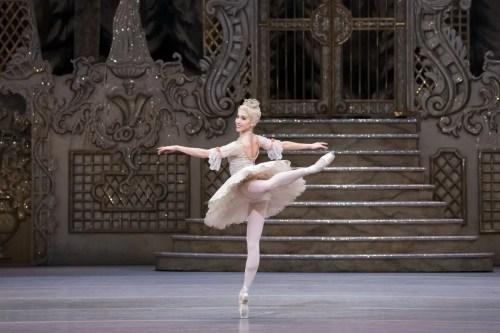Yasmine Naghdi as The Sugar Plum Fairy in The Nutcracker, The Royal Ballet © 2017 ROH, photo by Karolina Kuras