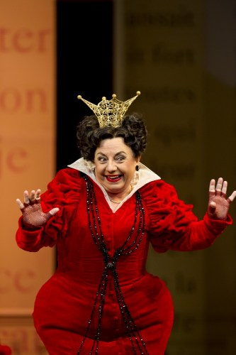 Cendrillon. Ewa Podles as Madame de la Haltiere. (c) ROH, Bill Cooper, 2011.