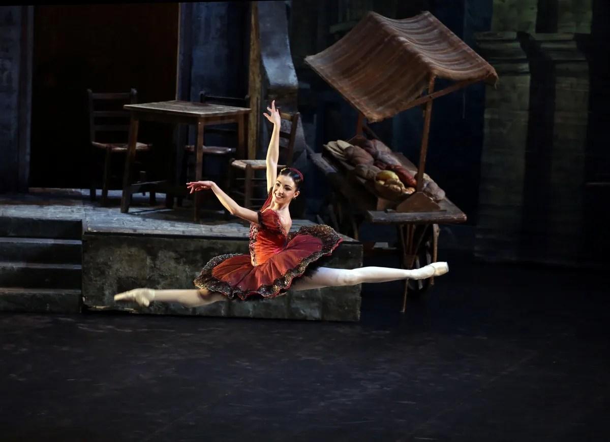 Don Quixote with Gaia Andreanò, photo by Brescia e Amisano ©Teatro alla Scala