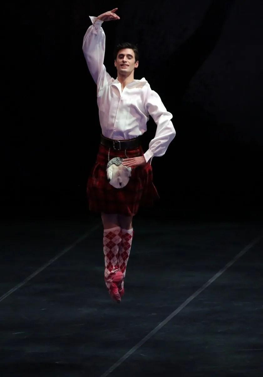 La Sylphide with Nicola Del Freo, photo by Brescia e Amisano © Teatro alla Scala