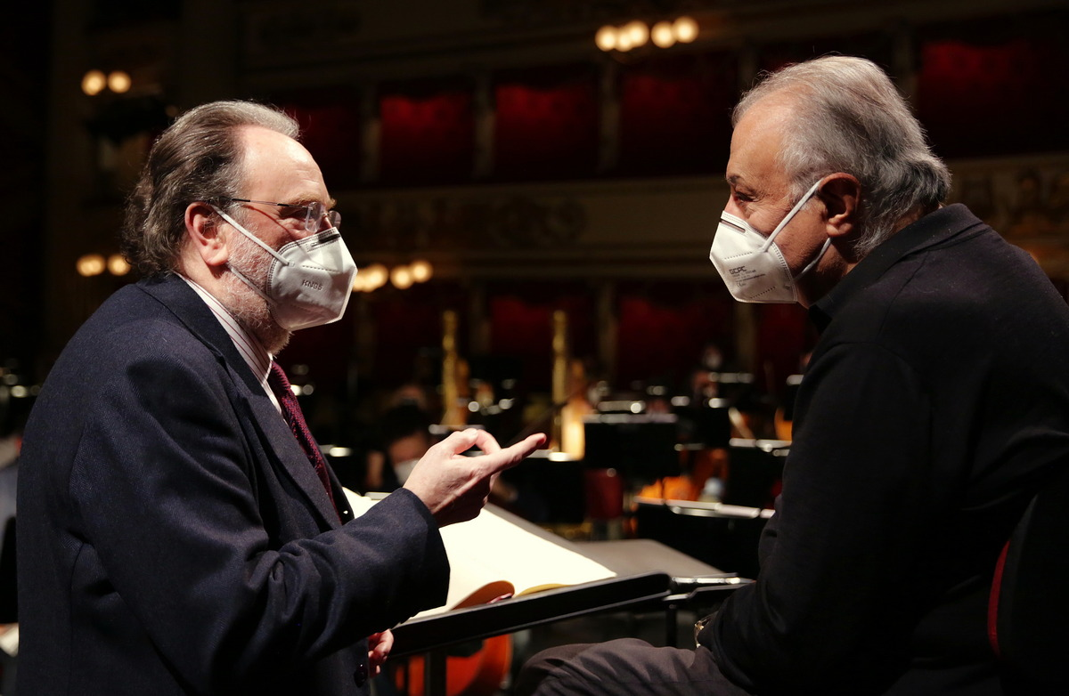 Riccardo Chailly and Zubin Mehta © Brescia Amisano, Teatro alla Scala - 02